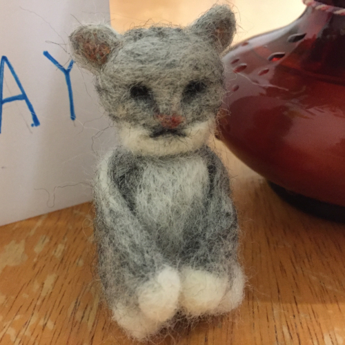 IP - Needle Felted Cat 4