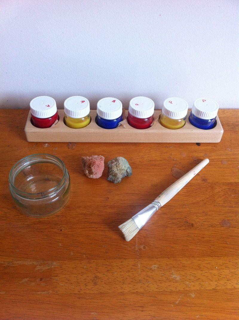 MAKE - lantern paint