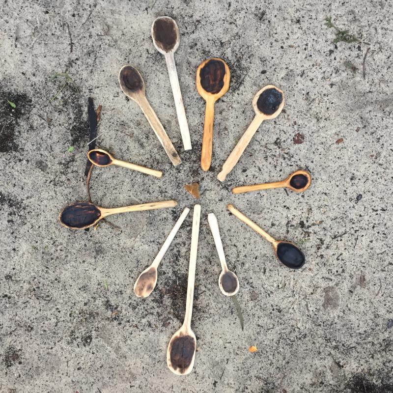 IP - Coal Burned Spoons