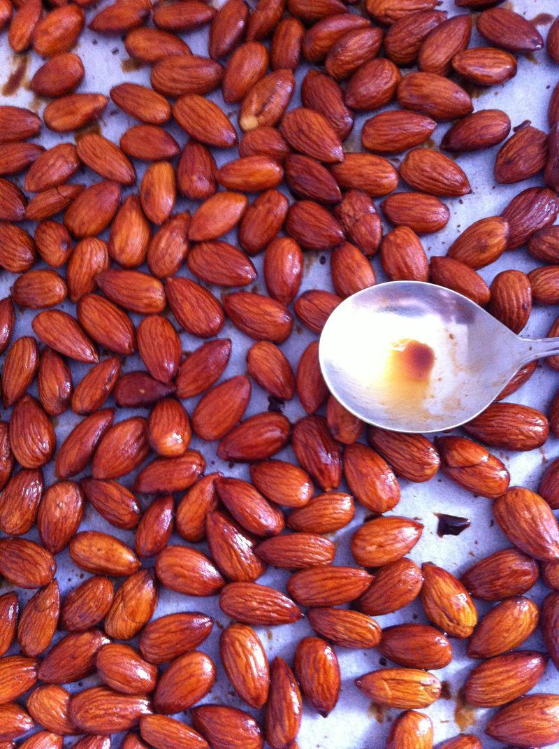 MAKE - tamari almonds