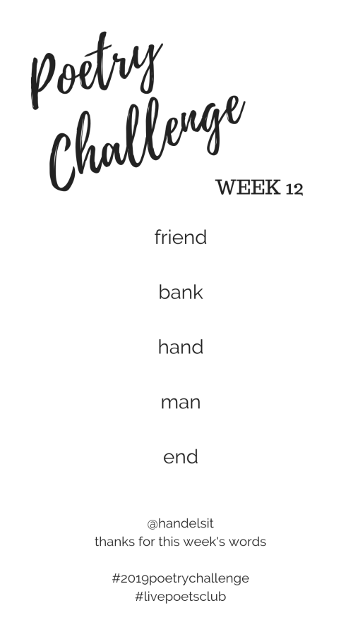Poetry Challenge 2019 - Week 12 Words