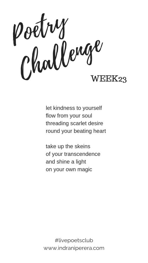 Challenge 2019 - Week 23 Poem