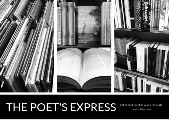 Blog Subscribe Page Image - The Poets Express (148 x 105mm)