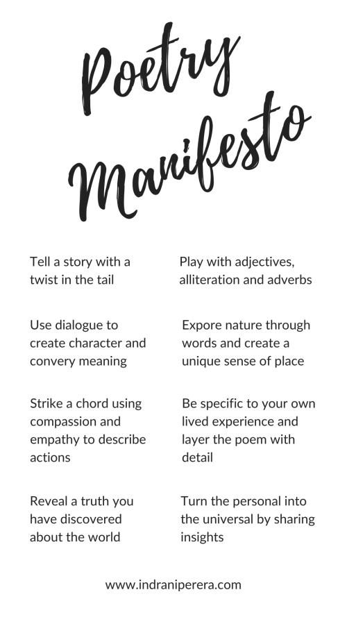 Instagram Story - Poetry Manifesto 2020