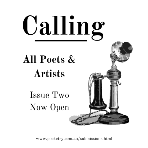 Pocketry Issue 2 Instagram CTA - Calling All Artists
