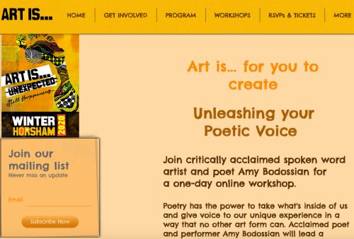 Art Is Workshop