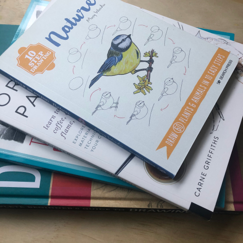 IP - Art Books Stack