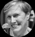 Anne Collopy B&W Headshot circle